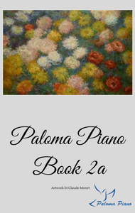 Paloma Piano Book 2a - Cover