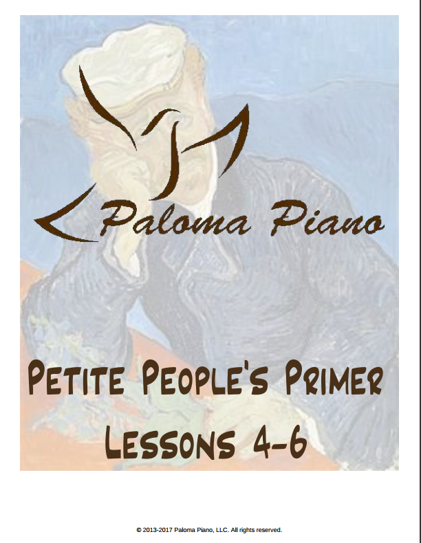Petite People's Primer - Lessons 4-6 - Cover