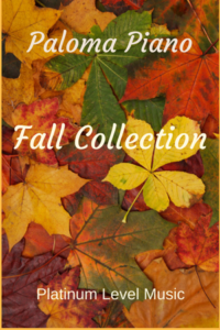 Paloma Piano - Fall Collection Cover