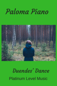 Paloma Piano - Duendes' Dance - Cover