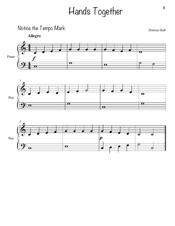 Paloma Piano - 1st 4 Before - Week 4 - Page 6
