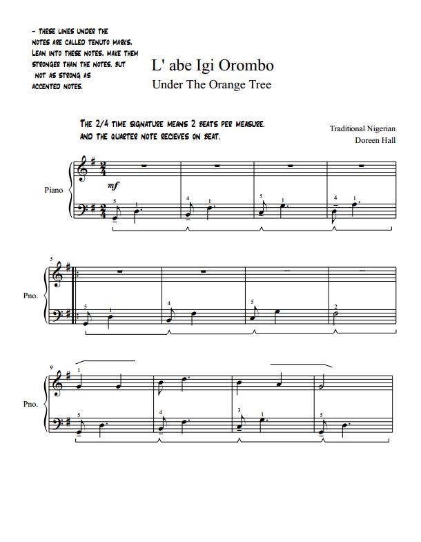Paloma Piano - L' aba Igi Orombo - Page 1