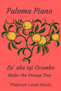 Paloma Piano - L' Abe Igi Orombo - Cover