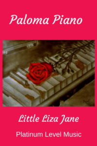 Paloma Piano Little Liza Jane - Cover