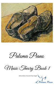 Paloma Piano Music Theory Book 1 - Cover