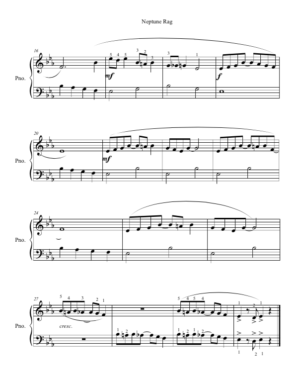 Paloma Piano - Neptune Rag - Page 2