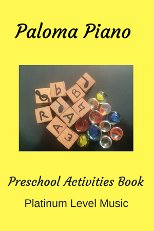 Paloma Piano's Preschool Activities Book