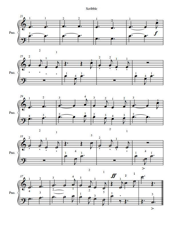 Paloma Piano - Scribble - Page 2