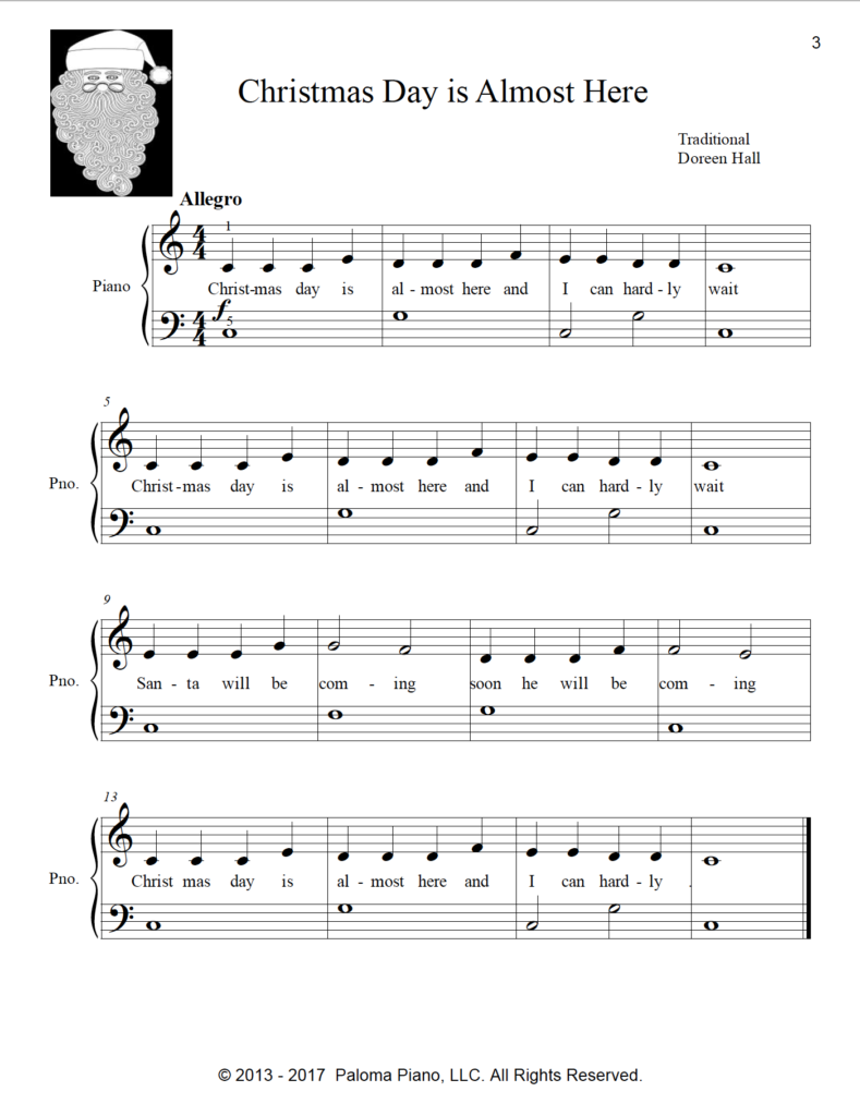 Paloma Piano - Christmas Collection - Volume 1 - Page 3