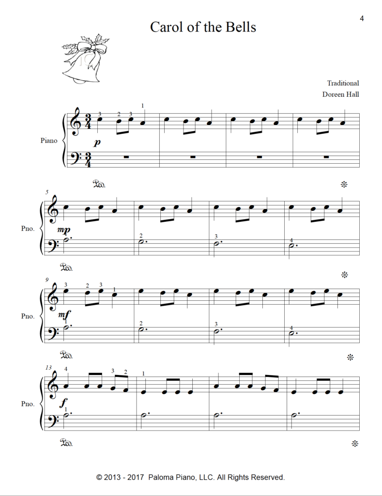 Paloma Piano - Christmas Collection - Volume 1 - Page 4