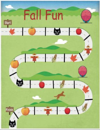 Preschoolers Fall Fun Game