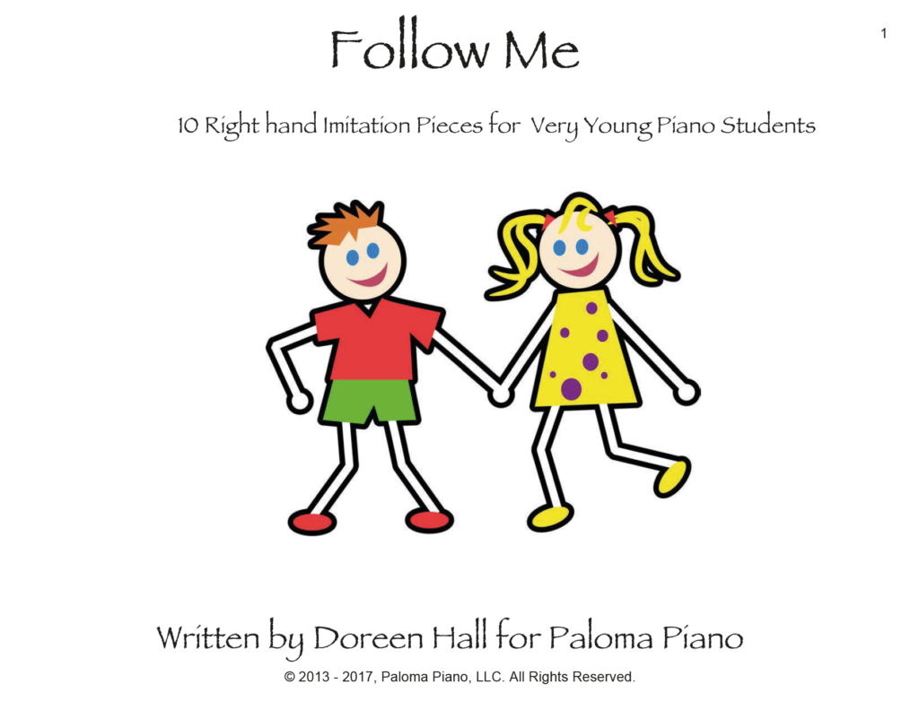 Paloma Piano - Follow Me - Front Page