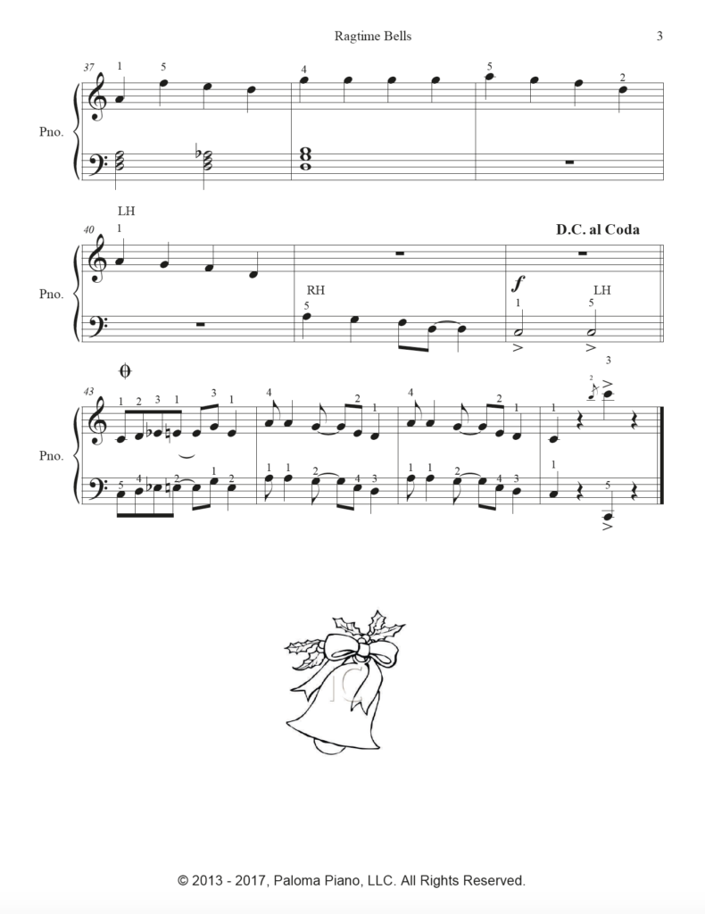 Paloma Piano - Ragtime Bells - Page 3