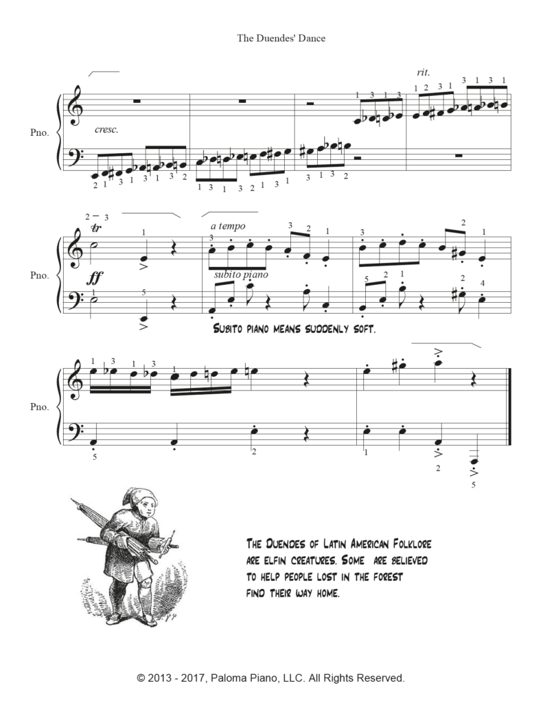 Paloma Piano - Duendes' Dance - Page 3