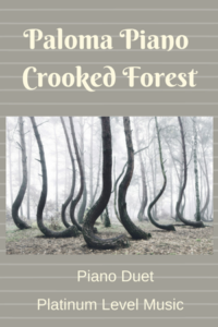 Paloma Piano - Crooked Forest - Cover