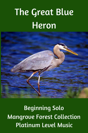 Paloma Piano Great Blue Heron
