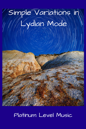 Simple Variations in Lydian Mode