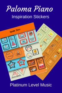Paloma Piano - Inspiration Stickers - Cover