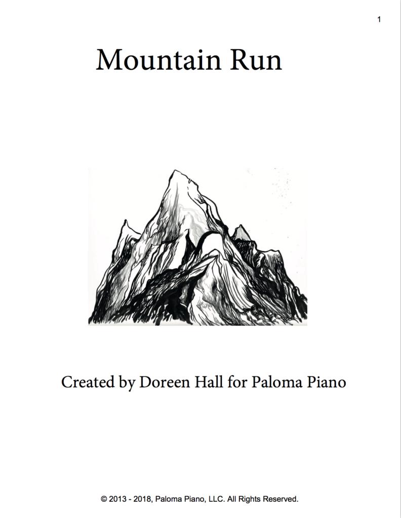 Paloma Piano - Mountain Run - Page 1