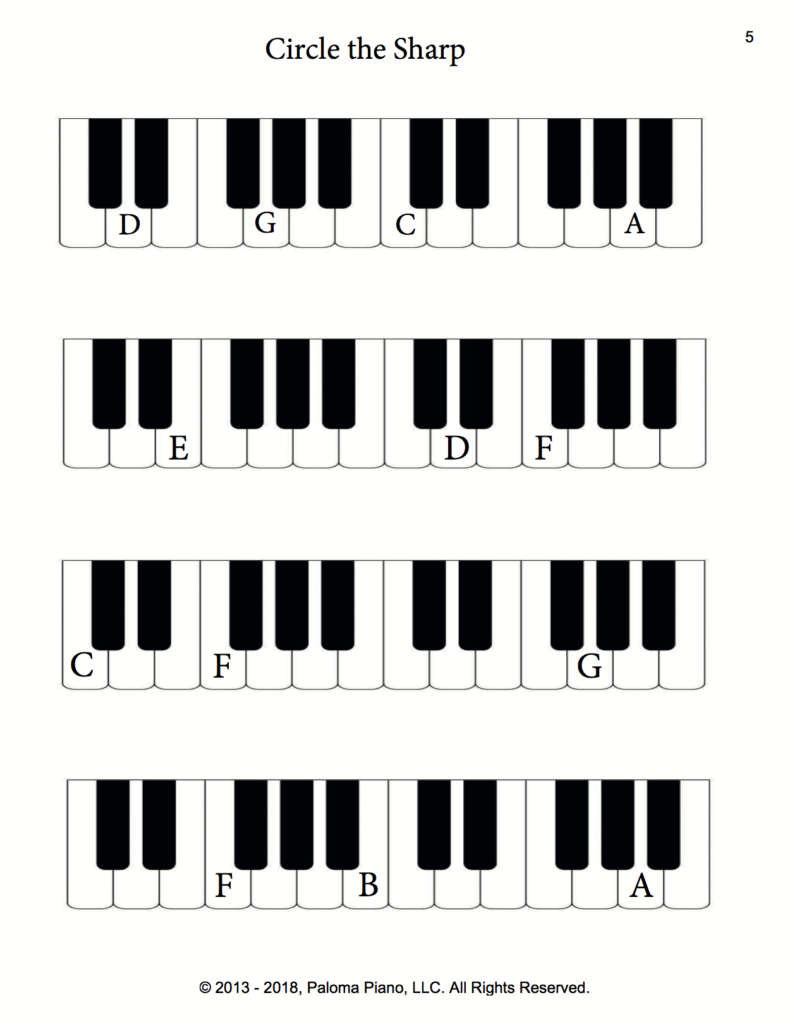 Paloma Piano - Music Theory - Accidentals - Page 5