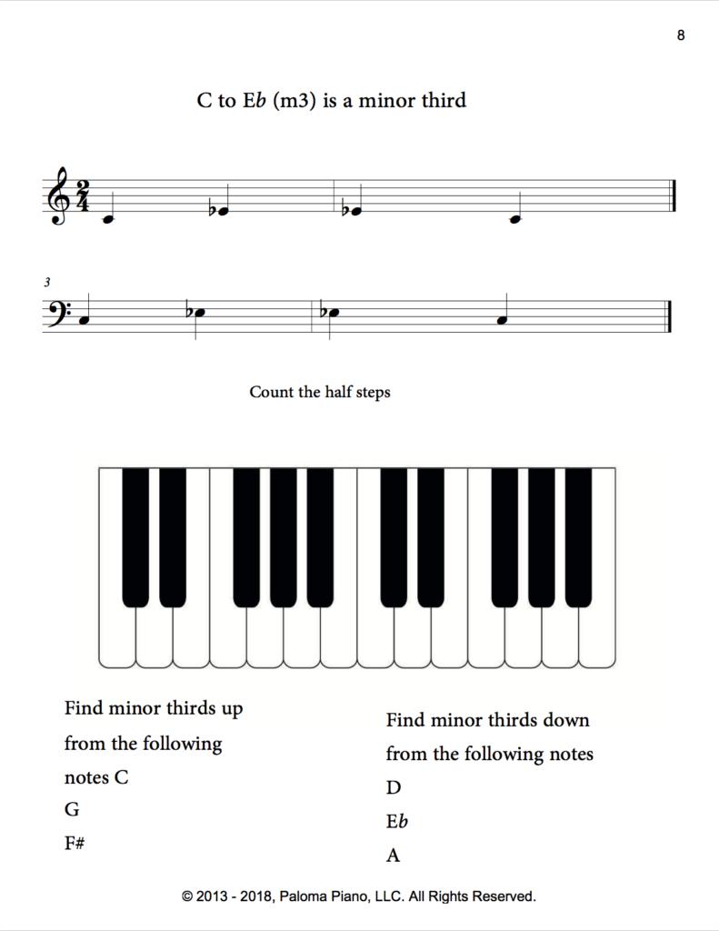Paloma Piano - Music Theory - Intervals - Page 8