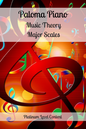 Music Theory - Major Scales