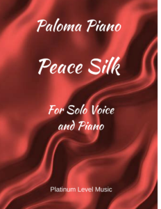 Paloma Piano - Peace Silk