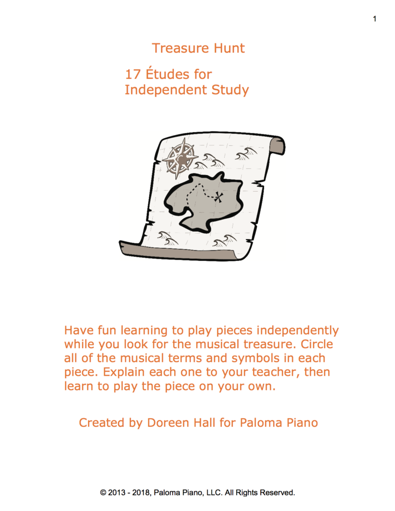 Paloma Piano - Treasure Hunt - Page 1