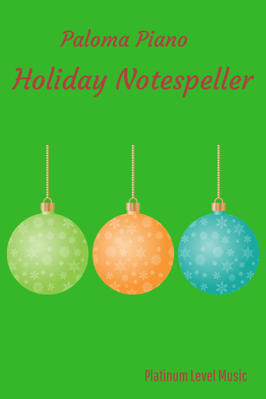 Holiday Notespeller