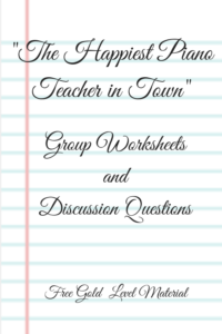 Book Group Worksheets & Discussion Questions