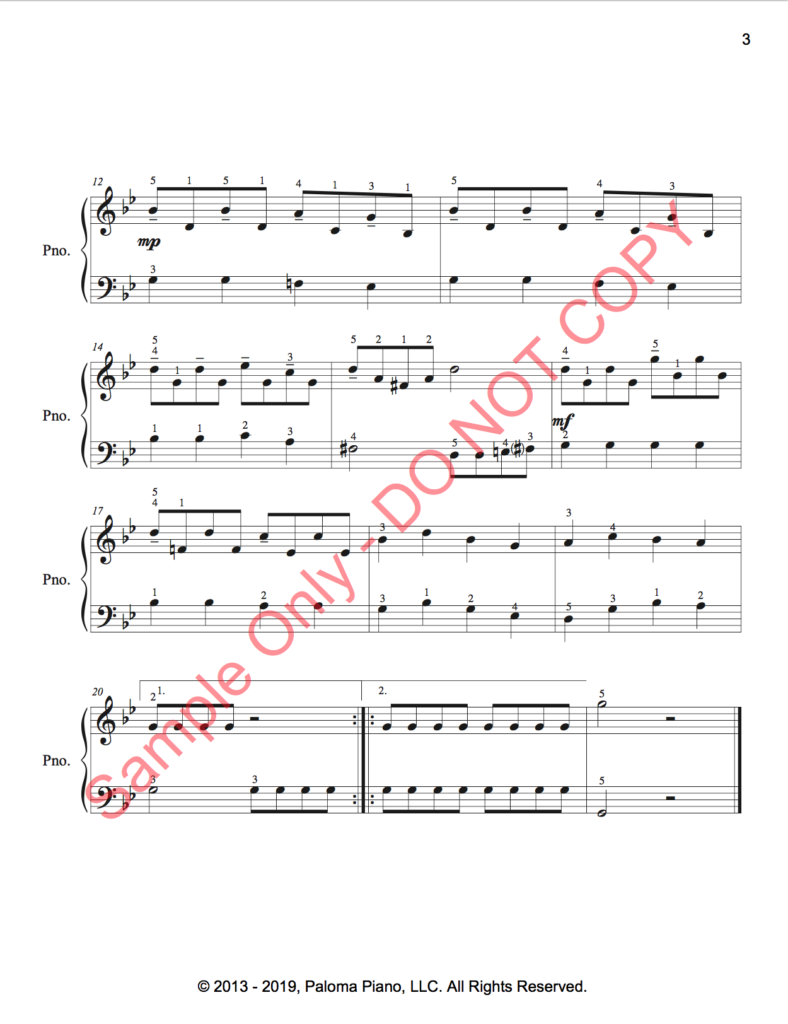 Paloma Piano - Kisa Pada - Page 3