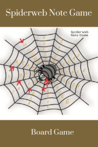 Paloma Piano - Spiderweb Note Game