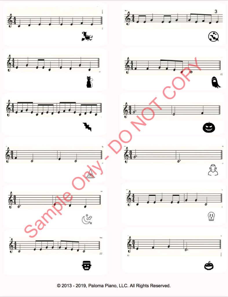 Paloma Piano - Rhythm Ride Game - Page 3