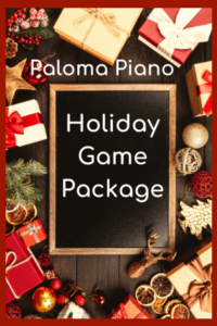 Holiday Game Package